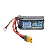 Helios 11.1V 1550mAh 3S 75C Lipo Battery XT60 Plug For for FPV RC Drone