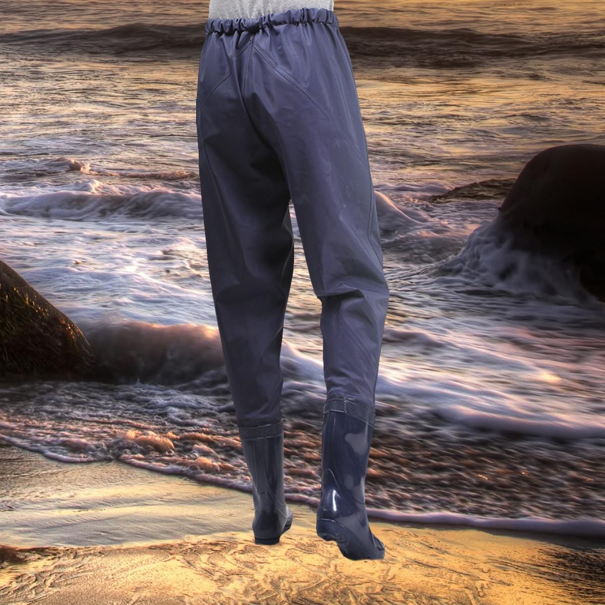 Waterproof Men Catch Fish Shoes Fishing Boot Outdoor Waist Wading Pants Overalls