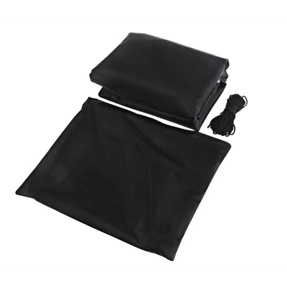 Phenomenal Patio Protective Furniture Cover Black Rectangular Extra Large Waterproof Dustproof Folding Table And Chair Set Cover Machost Co Dining Chair Design Ideas Machostcouk