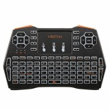 Viboton I8 Plus Spainish 2.4G Wireless Colorful Marquee Backlit Mini Keyboard Air Mouse Touchpad