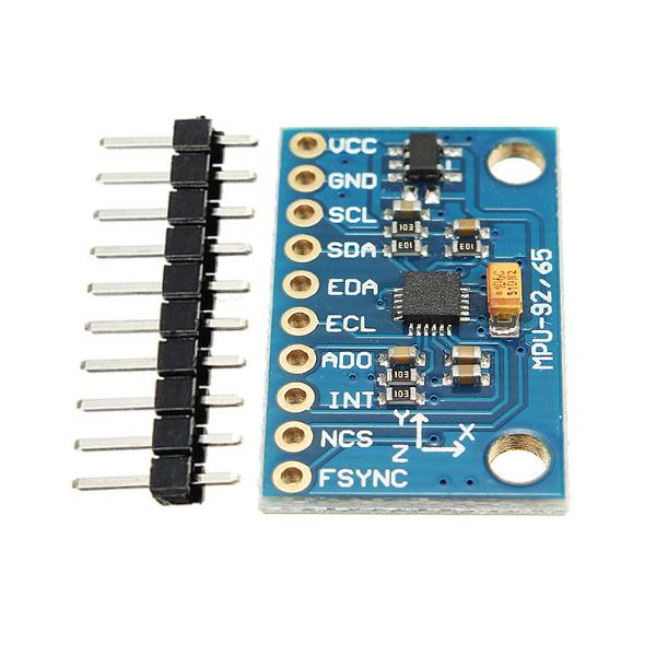 3pcs Mpu 9250 Gy 9250 9 Axis Sensor Module I2c Spi