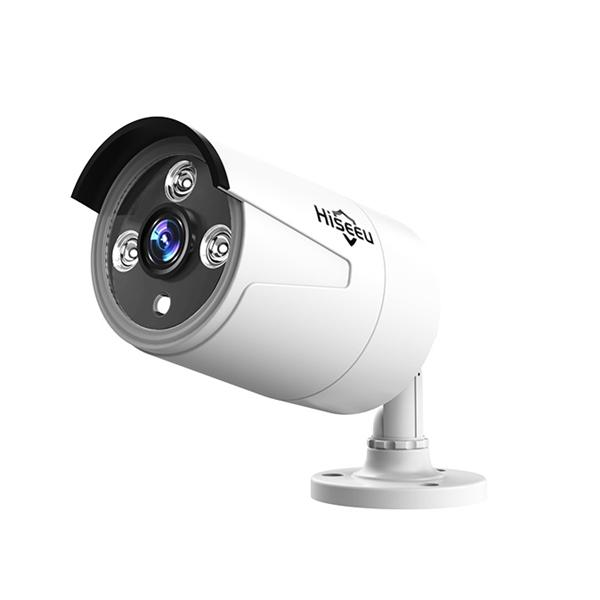 Hiseeu HB612 1080P 2.0MP POE Mini Bullet IP Camera ONVIF P2P IP66 Outdoor IR CUT Night Vision Cam