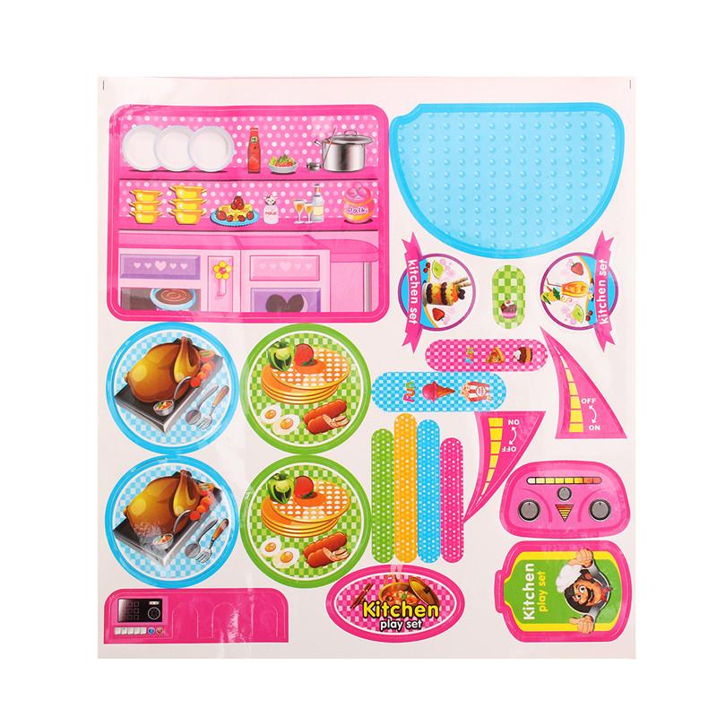 Kitchen Cooking Pizza Toy Set Preschool Toys Pretend Playset Suit ...