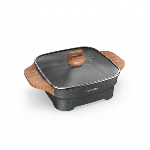 Xiaomi Mihome 4L Multi-functional Household Electric Hot Pot Food Grade Non-stick Coating Hot Pot