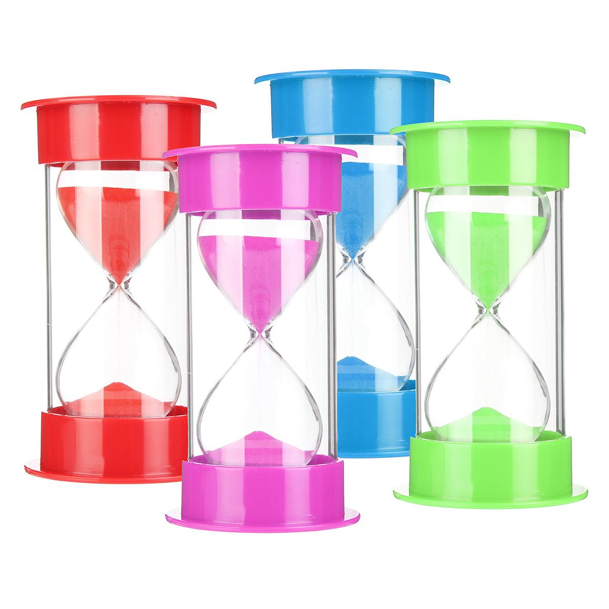 30min minutes sand glass sandglass hourglass timer clock home decor