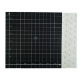 300*300mm Black Square Scrub Surface Hot Bed Platform Sticker Sheet With 1:1 Coordinate For 3D Printer