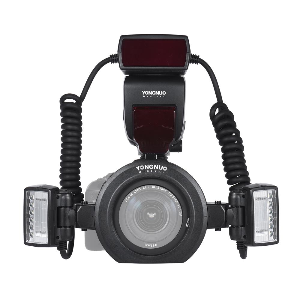 Yongnuo Yn24ex E Ttl Macro Flash Speedlite For Canon With 2pcs Yn 565ex Ii Lcd
