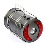 ARILUX Portable Collapsible COB Camping Lantern Battery Powered Magnetic Flashlight for Emergency