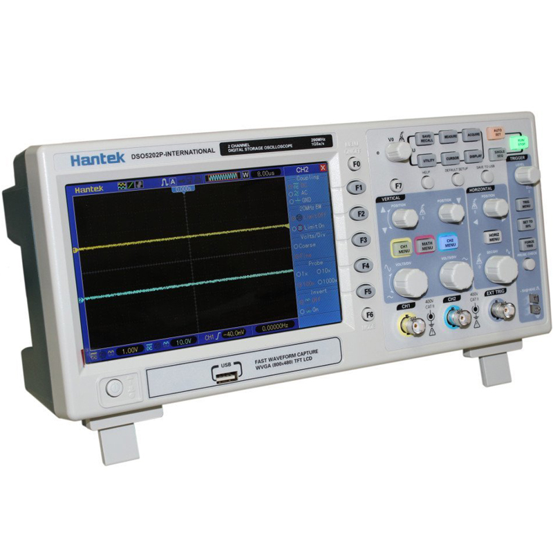 Digital Oscilloscope Pc : Hantek dso p digital oscilloscope mhz bandwidth