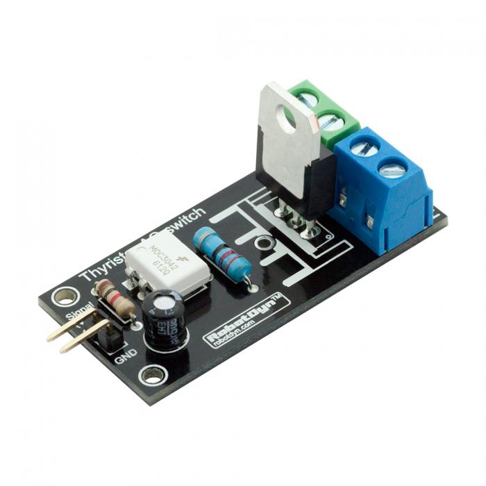 3Pcs RobotDyn Thyristor AC Switch Relay Module 3 3V/5V Logic AC 220V/5A  Peak 10A