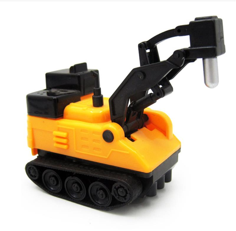 Scribe Induction Car Pen Pull Lines Construction Vehicles For Kids Children Christmas Gift Toys