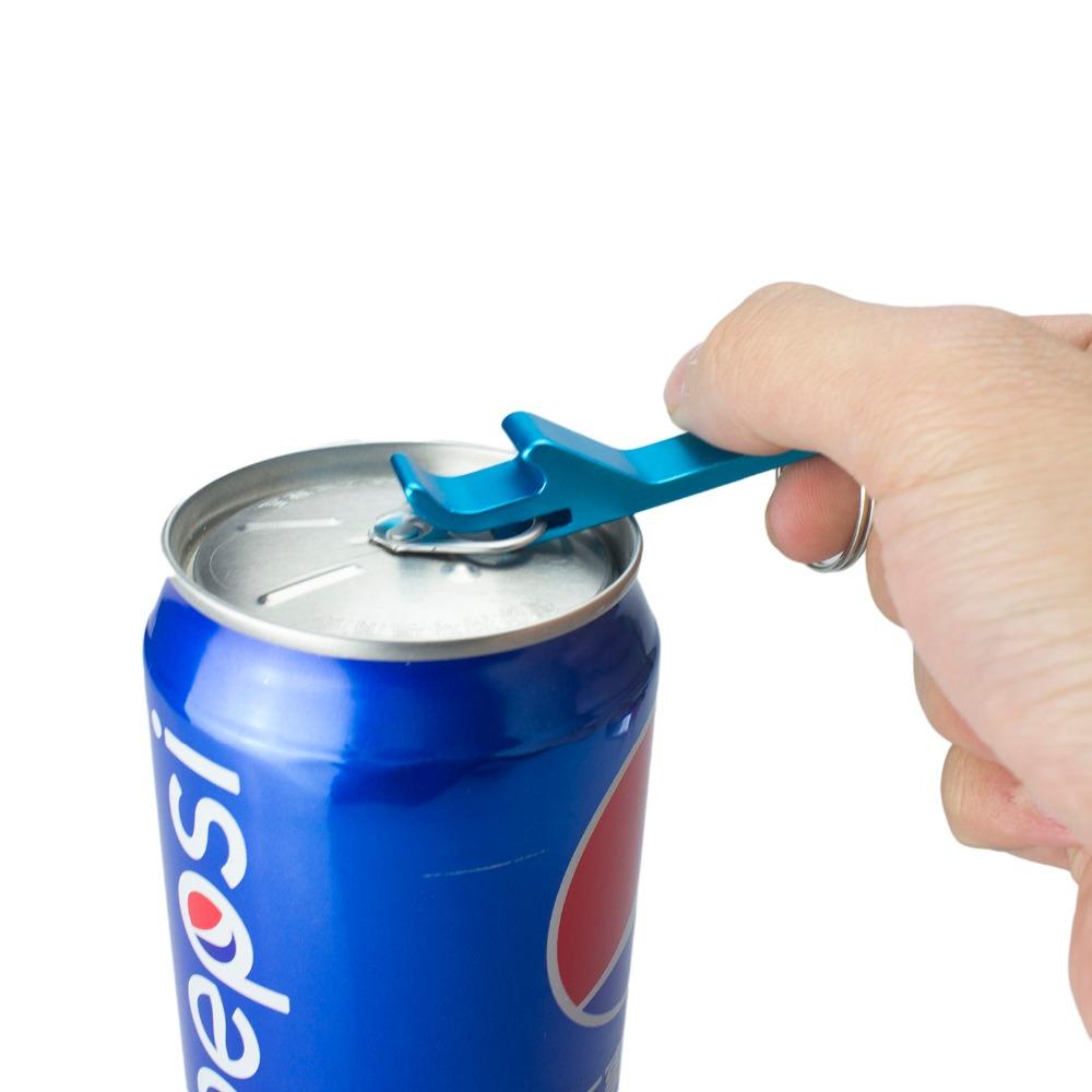 KCASA KC-OP55  Hot Sale 1pc Pocket Beer Opener Novelty Bar Tools Key Chain Beer Bottle Opener