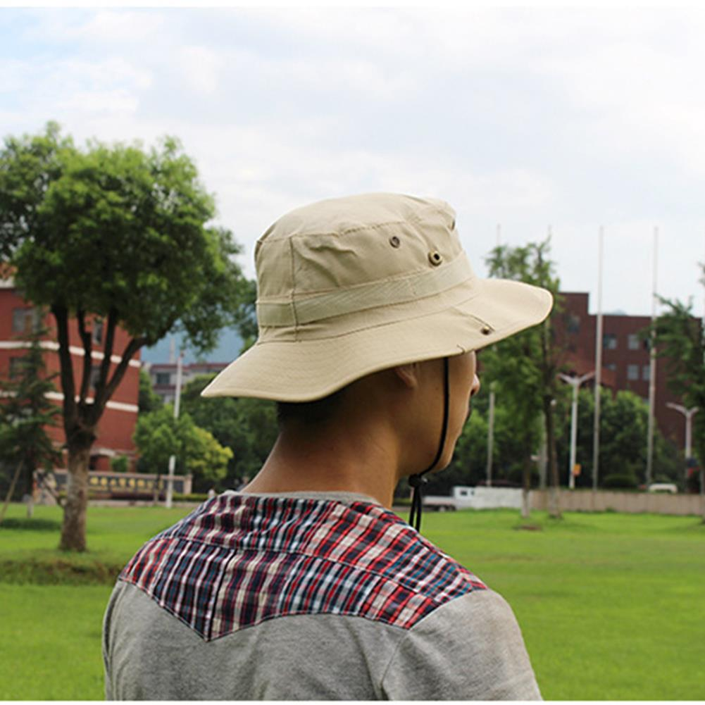 00b2c7a3 AOTU Camouflage Jungle Hat Cap Hat Hiking Camping Climbling Fishing ...
