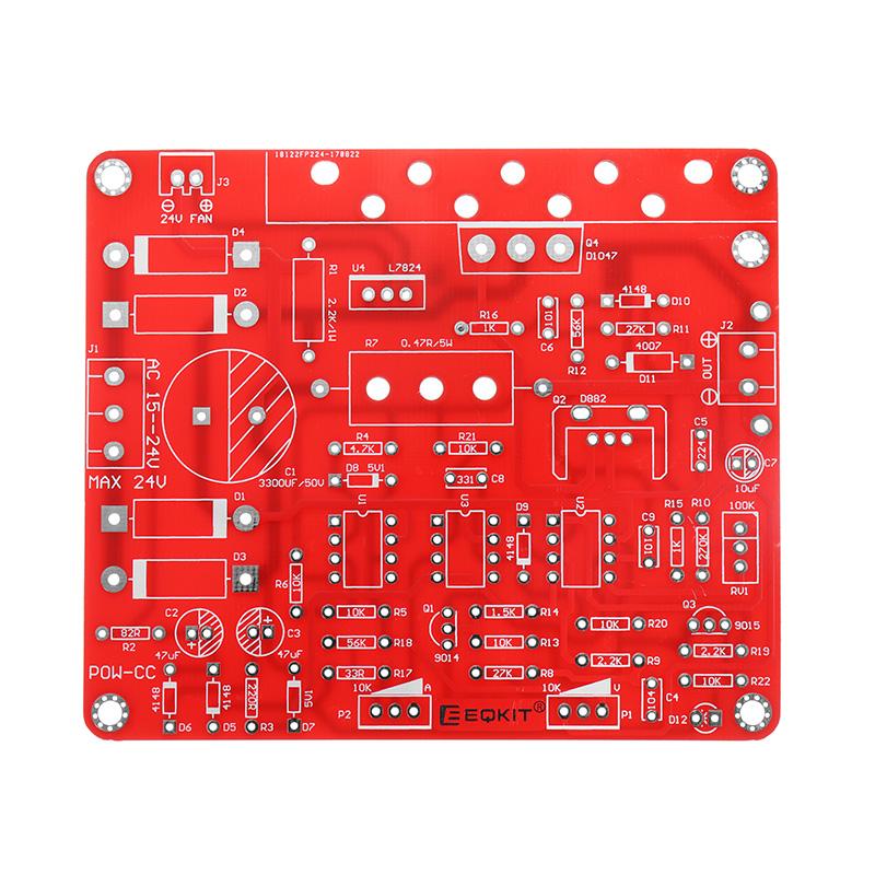 5Pcs Constant Current Power Supply Kit DIY Regulated DC 0-30V 2mA-3A  Adjustable