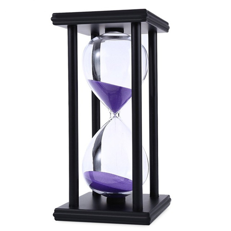 60 Minutes Sand Hourglass Timer Sandglass Countdown Timing Clock ...
