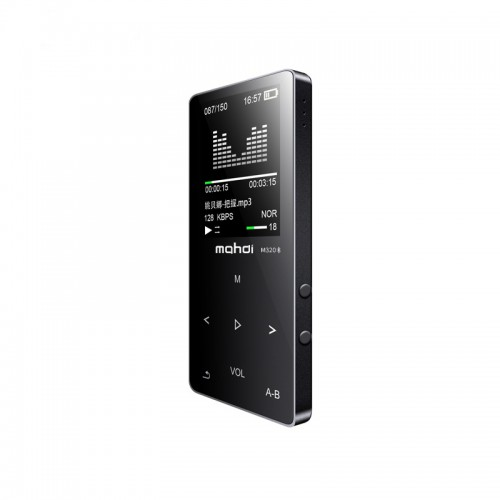 Mahdi M320 Bluetooth Built-In Speaker 1.8 Inch MP3 Music Player Support Recording E-book TF FM