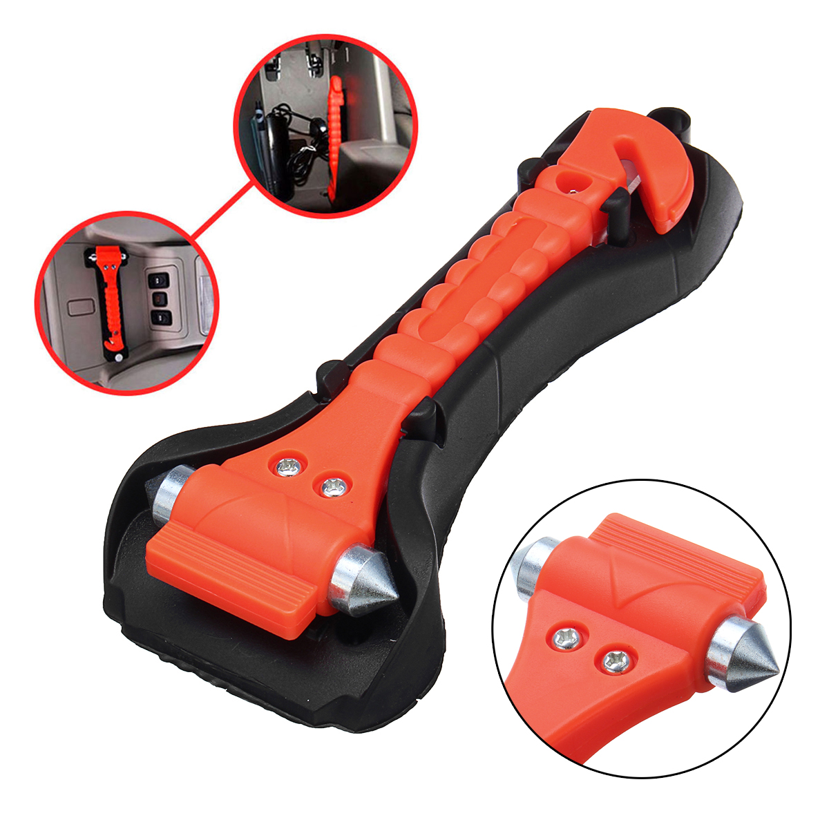 Stupendous Car Safety Hammer Escape Emergency Hammer Seat Belt Cutter Window Glass Breaker Car Rescue Tool Ocoug Best Dining Table And Chair Ideas Images Ocougorg