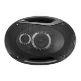 2Pcs 12V 1000 Watts 6×9 Inch 3-Way Twin Tone Car Door Shelf Coaxial Speakers