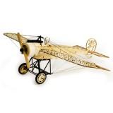 Dancing Wings Hobby Fokker-E 410mm Wingspan Balsa Wood Airplane Static Model Unassembled