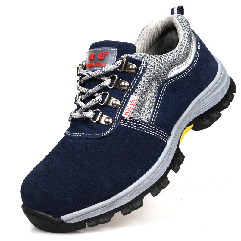 Men/'s Safety Shoes Steel Toe Work Boots Indestructible Hiking Climbing Sneakers