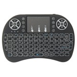 I8 Three Color Backlit Portuguese Version 2.4G Wireless Mini Keyboard Touchpad Air Mouse