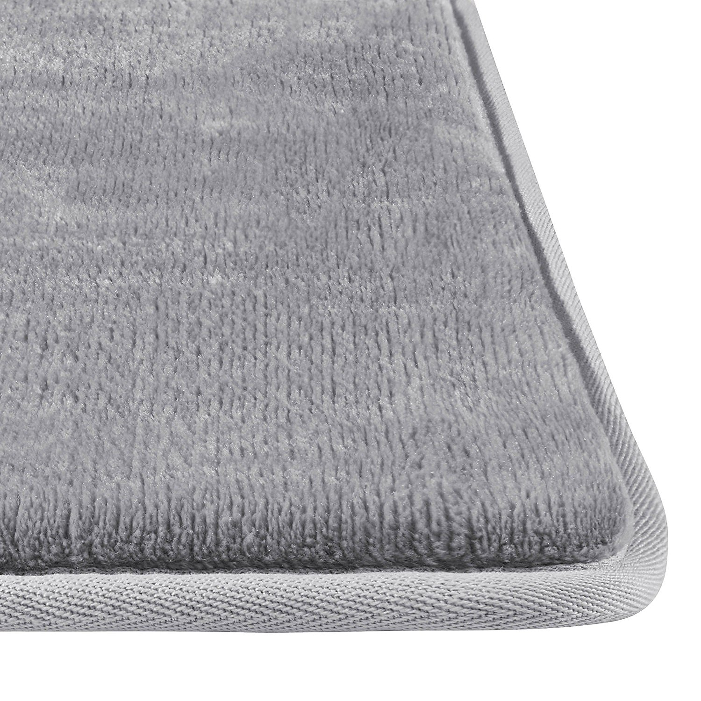 50x80cm Slow Rebound Coral Velvet Bathroom Rug Carpet Bath Mat Non Slip Absorbent Super Mat