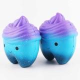 Sanqi Elan 11.8cm Star Cute Teeth Cake Soft Squishy Super Slow Rising Original Packing Kid Toy