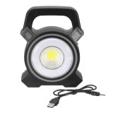 30W USB Rechargeable Solar COB LED Portable Flood Light Outdoor Garden Lantern Work Spot Lamp
