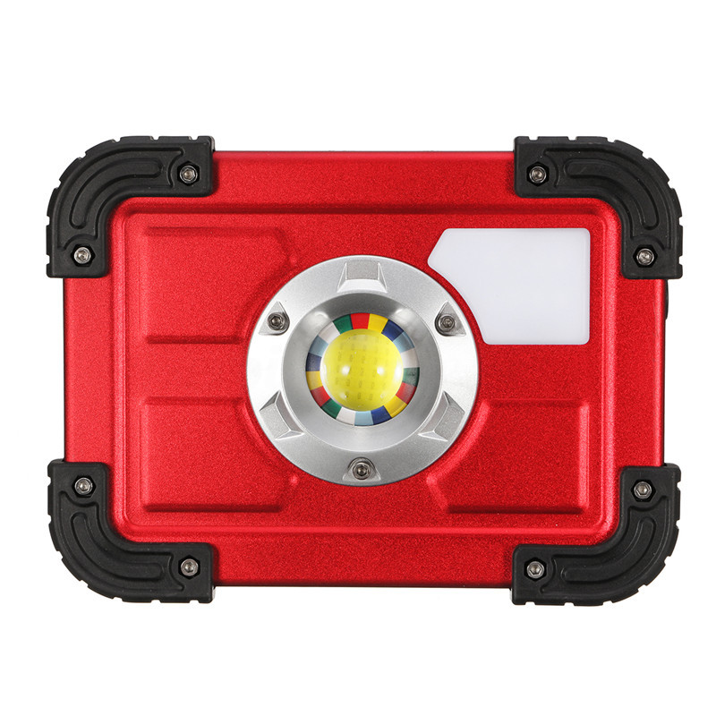 30W COB 4 Mode LED Portable USB Rechargeable Flood Light Spot Hiking Camping Outdoor Work Lamp