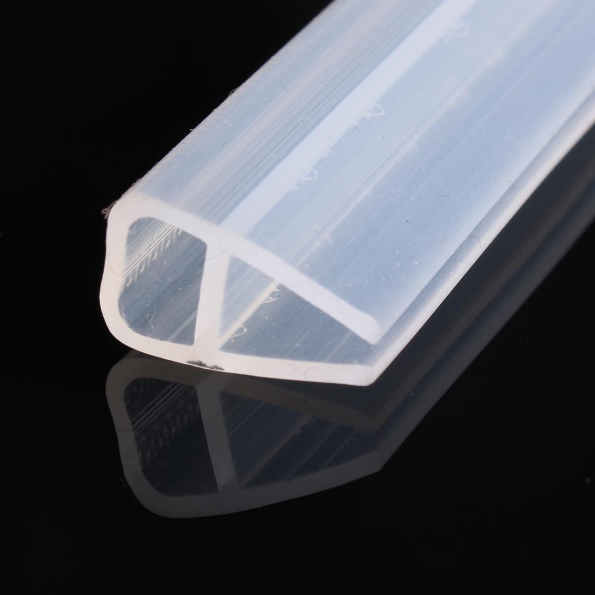 2m Shower Screen Seal Strip Plastic Rubber for Bath Room Door Window ...