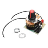 3Pcs 220V 500W Dimming Regulator Temperature Control Speed Governor Stepless Variable Speed BT136 Speed Control Module