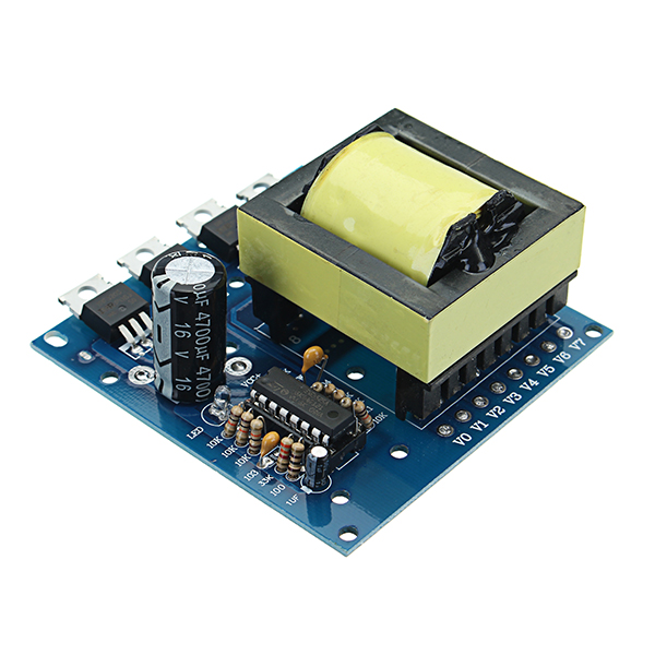 500W DC 12V 16V To AC 18V 0-220V-380V DC To AC Inverter Boost Board Step Up Power Module Converter Transformer High Energy Efficiency Long Life Low Power Consumption Energy Saving