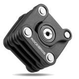 ROCKBROS Mini Bicycle Anti Theft  Chain Cube Lock Folding Lock Sport Outdoor Cycling Bike Locks