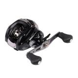 Bobing BC200 17+1BB 7.1:1 Aluminium Alloy Fishing Wheel Left/Right Hand Black Baitcasting Reel