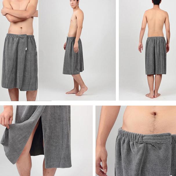 Honana BX-R358 Bathroom Summer Soft Mens Bath Wrap Towels Shower Spa Bath  Towel Wrap   Alexnld.com