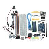 UNO R3 Starter Kit 1602 LCD L293D Motor LED Matrix MB102 Breadboard For Arduino