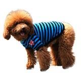 Pet Dog Cat Striped Clothing T shirt Pet Apparel Vest  Winter Spring Pet Customes 3 Colors