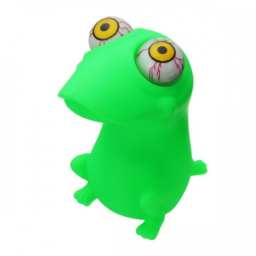 Pop Eyes Squishy Gift Stress Reliever Toy Frog Animal Funny Toy With Retail Box