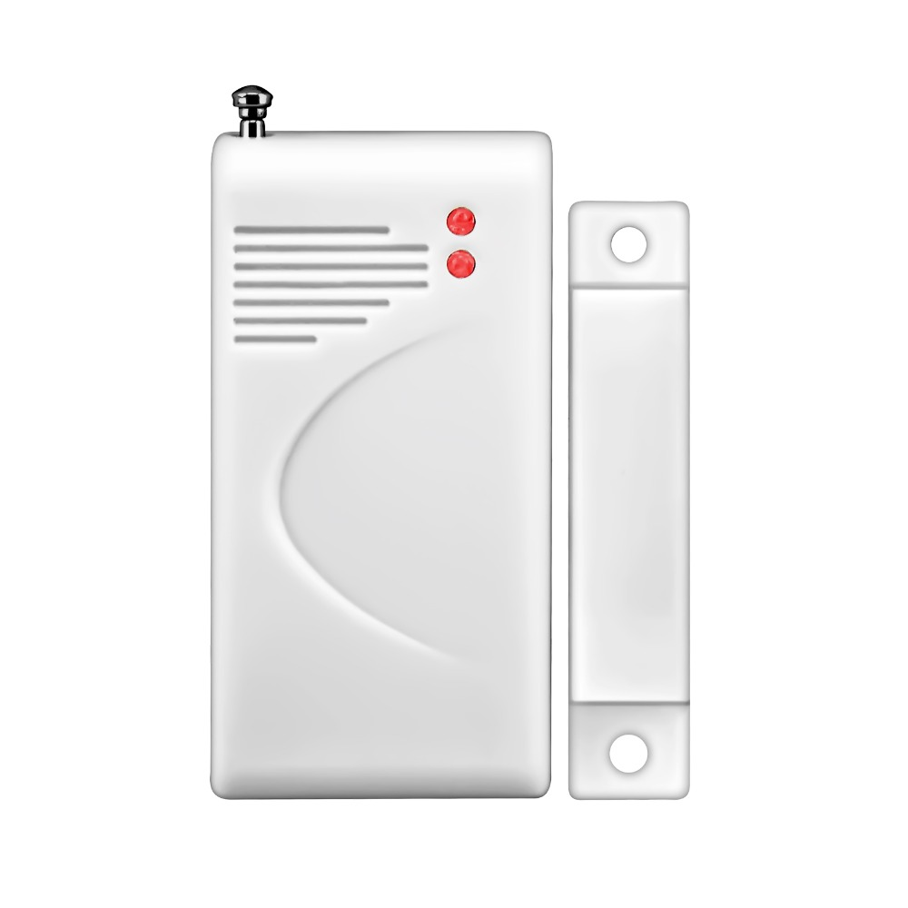 Fuers Alarm Siren Speaker Loudly Sound Alarm System Kits Wireless Home Alarm Siren Security Protection System With one Host speaker one Door / Windor Sensor one Remote Control