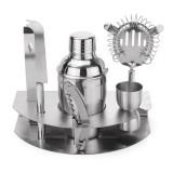 350mL Bar Drink Cocktail Shaker Jigger Mixer Sets Stainless Steel Bartender Tool Kit
