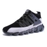 Outdoor Men's Breathable Shock Absorbing Suede Sneaker Trekking Runners Shoes