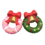 Squishy Fun Christmas Jingle Bell Donut 13cm Gift Slow Rising Original Packaging Soft Decor Toy