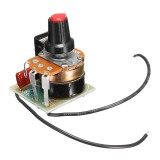5Pcs 220V 500W Dimming Regulator Temperature Control Speed Governor Stepless Variable Speed BT136 Speed Control Module