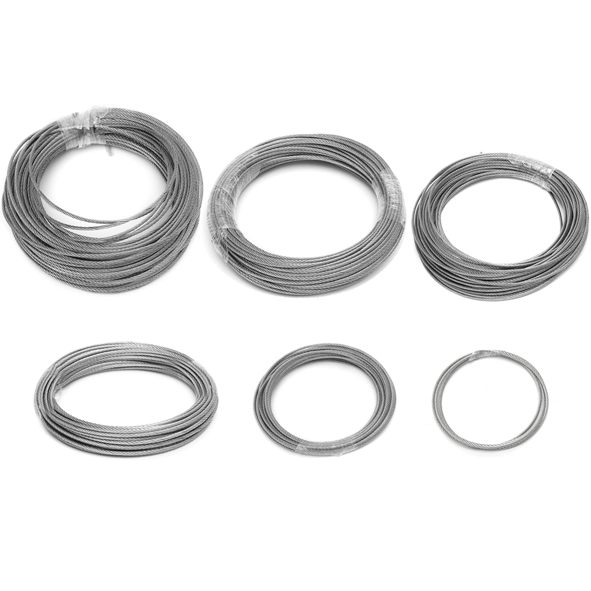 3mm Stainless Steel Wire Rope Tensile Diameter Structure Cable ...