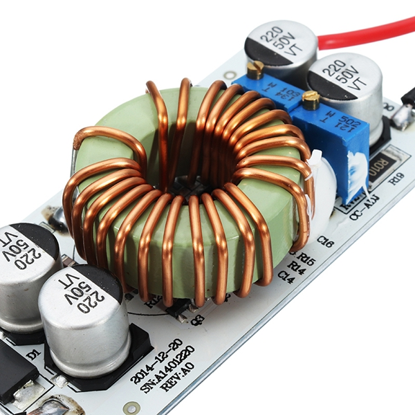 3pcs DC-DC 8.5-48V To 10-50V 10A 250W Continuous Adjustable High Power Boost Power Module Constant Voltage Constant Current Non-Isolation Step Up Board For Vehicle Laptop Power LED Driver