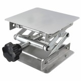 100100160mm Stainless steel lifts laboratory lifts manual control Lab Lifting Platforms 44 Inch
