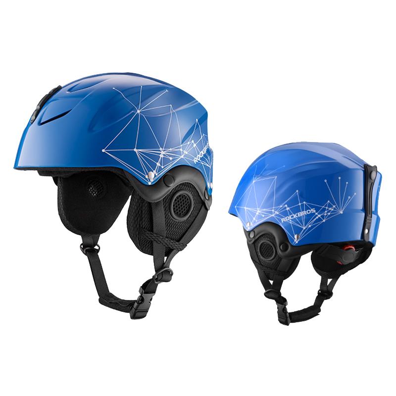 ROCKBROS Sport Outdoor Cycling Snowboard Helmet Ultralight Skiing Helmet Ear Protection Helmet