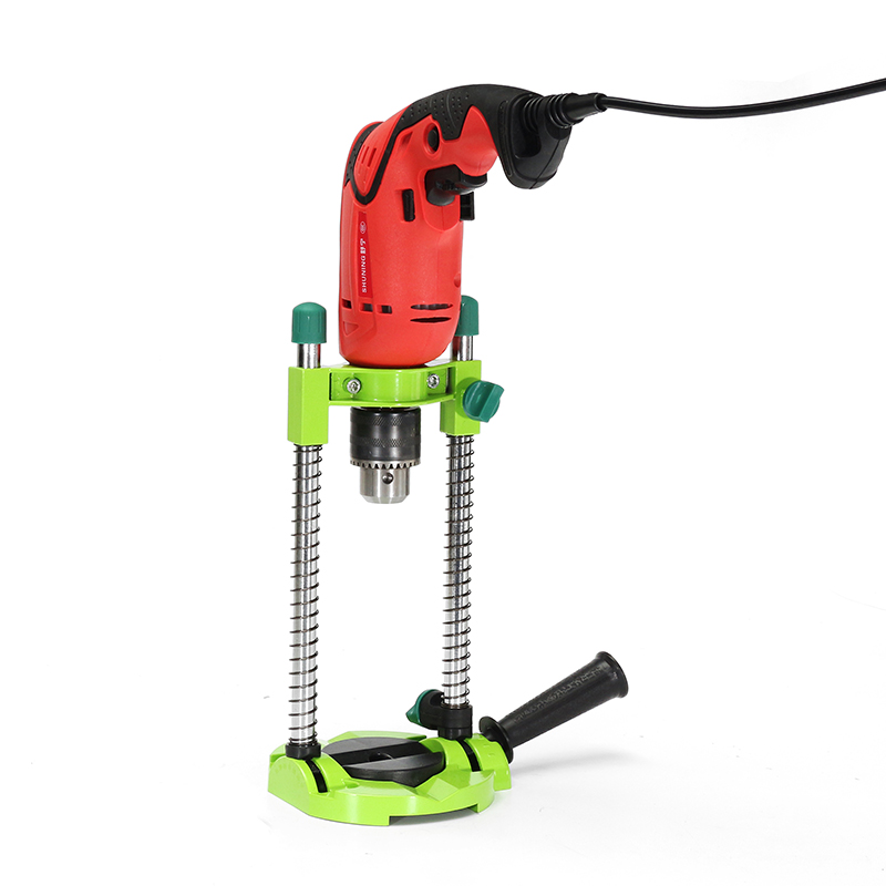 Adjustable Angle Drill Holder Guide Stand Positioning Bracket for Electric Drill