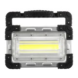 30W COB Rechargeable Handle Tents Lamp Outdoor Camping Hiking Portable Flood Light