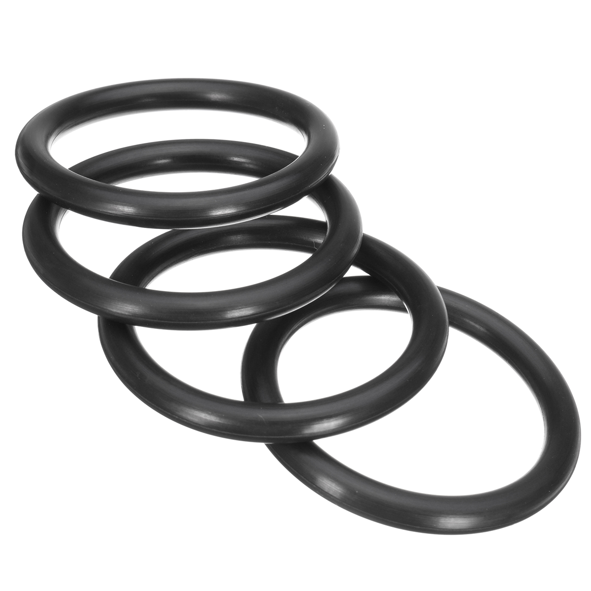 4x Car Bumper Fender Quick Release Fastener Replacement Rubber O-Ring Kit New